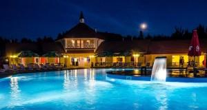 Łeba - Holiday Park KACZE STAWY - basen zewnętrzny