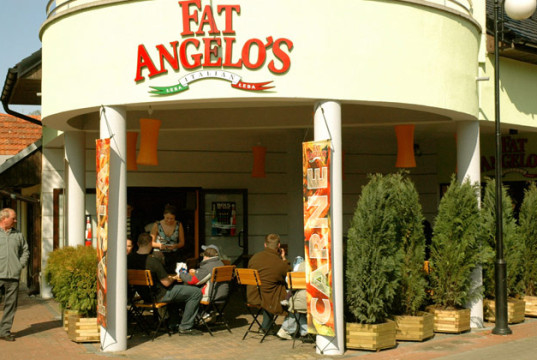 Łeba - Restauracja Fat Angelos