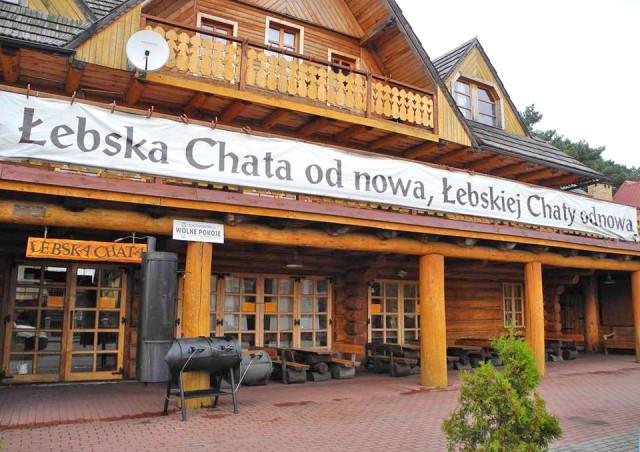 Łeba - Restauracja Łebska Chata