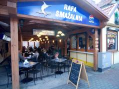 Łeba - smażalnia ryb RAFA